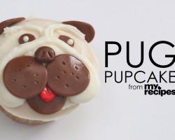[RECIPE] How To Make Adorable Pug Cupcakes!