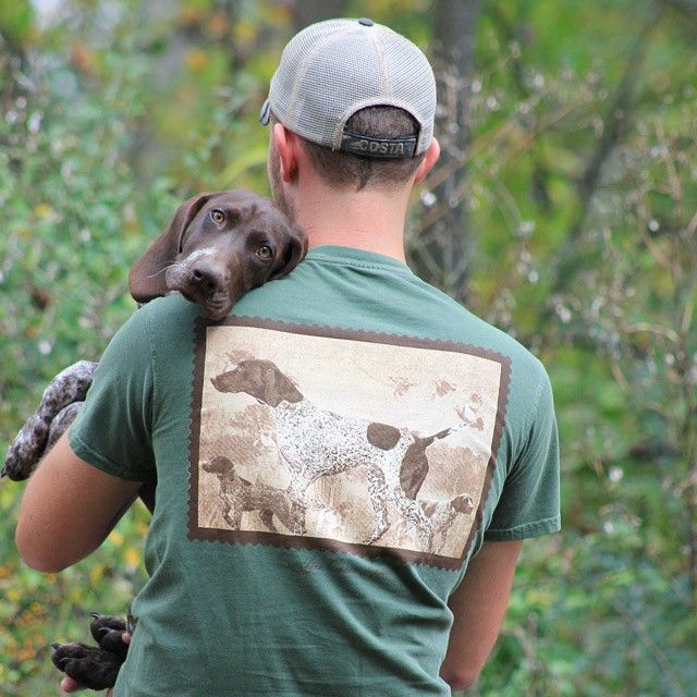 pointer dog owner