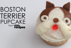 [Recipe] How To Make Adorable Boston Terrier Cupcakes