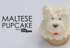 [Recipe] How To Make Adorable Maltese Cupcakes
