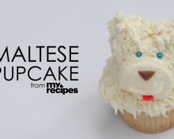 [Recipe] How To Make Adorable Maltese Cupcakes
