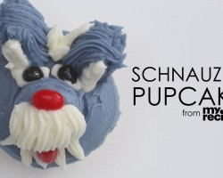 [Recipe] How To Make Adorable Schnauzer Cupcakes