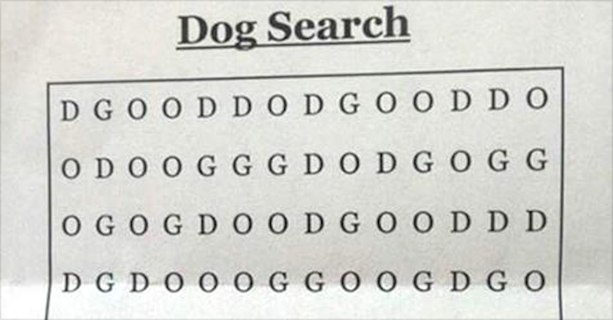 The World's Hardest Word Search?! This little brainteaser is