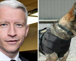 Anderson Cooper Helps Police In Lifesaving Way. The Result Will Warm Your Heart.