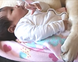 [Video] Mom Captures Cute Moment With ALL Of Her Babies On Camera