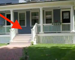 [Video] Mailman waits outside of the house—now watch as the dog comes running