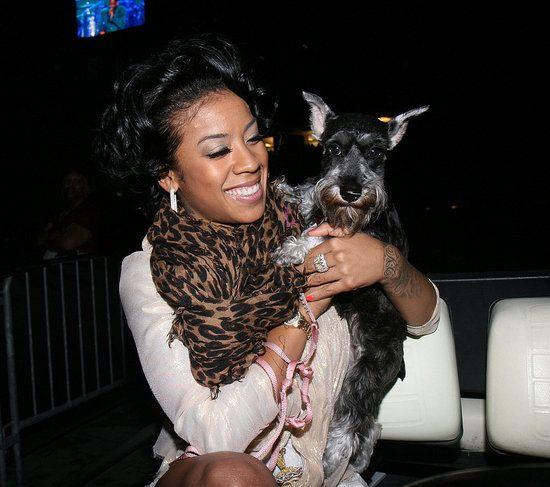 Keyshia Coles dog