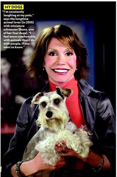 Mary Tyler Moore dog
