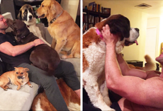 This Man Won't Stop Adopting Rescue Animals, And Here's How He Lives