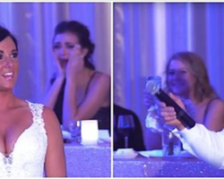 Groom Tells Bride They've Become 'Family Of 3,' Then He Points Behind Her