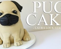 [RECIPE] How To Make A Simple, Cute 3D Pug Cake!