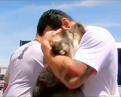 Soldier Has To Leave Puppy Behind In Iraq – Now Watch His Reaction When Reunited