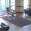 Everyone was caught off guard when two pit bulls wandered into the hospital