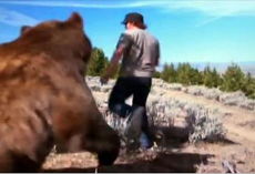 Man saves an abandoned bear cub. 6 years later, he's best friends with an 800-pound bear