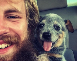 17 Dogs The Moment They First Met Their Humans