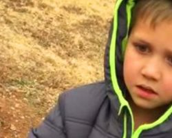 After 8 Months Searching, The Moment The Little Boy Sees His Dog Again Will Leave You In Floods