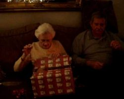 Grandmother Surprised By The Christmas Present She Always Wanted