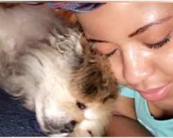 As Grieving Teenager Says Goodbye To 19-Year-Old Dying Dog, He Does The Sweetest Thing