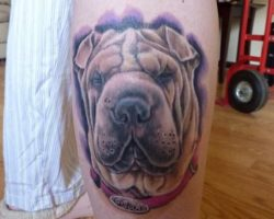 The 11 Coolest Shar Pei Tattoo Designs In The World