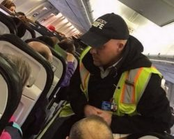 After Plane's Delayed, Woman Snaps Pic Of What Crew Was Up To