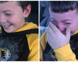 Child Asks Santa For Puppy For Christmas, Instead He's Taken To The Airport