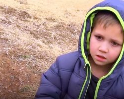 Little Boy's Dog Is Lost For A Month. When They Finally Reunite, It's Heartbreaking