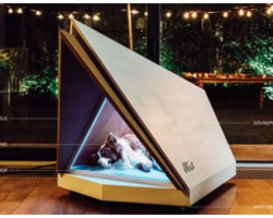 Ford Designs New Noise-Canceling Dog Kennel To Block Out Fireworks and Thunder Noise