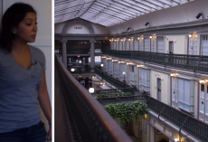 Woman lives in oldest Mall In America after 48 abandoned shops are turned into homes
