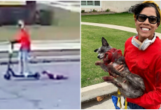 UPDATE: Charges Filed Against Woman Who Dragged Dog From Scooter Until His Paws Bled