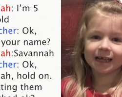 5-year-old calls 911 to save dad's life but her call is cracking everyone up