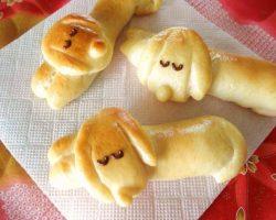 [Recipe] Sleeping Dachshund Wiener Sausage Bread Rolls