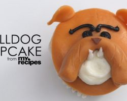 [Recipe] How To Make Adorable Bulldog Cupcakes