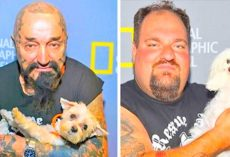 Tattooed Biker Gang Takes Down Dog Fighting Rings And Save Hundreds Of Helpless Dogs