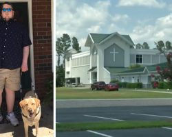 Indifferent Church Kicks Blind Man Out Of Service For Having Guide Dog With Him