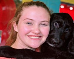 NFL Player Gifts Teen A New Service Dog After Hers Was Fatally Shot Outside Home