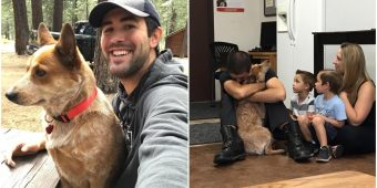 Man Reunites With His Therapy Dog After She Was Lost In The Woods For 28 Days