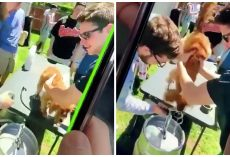 Students Forced Dog To Drink Beer From Keg and Filmed It