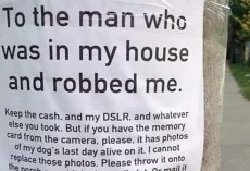 Pet Owner Begs Thief To Return Photos of Dog's Last Day Alive In Heartrending Note