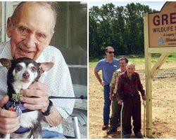 98-Year-Old Man Donates $2M Life Savings To Build 400-Acre Wildlife Sanctuary