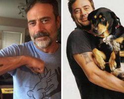 Hollywood Actor Shows Off His Tattoo And Said, 'It's Dedicated To The Puppy He Saved'