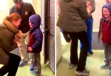 6-Yr-Old Boy Was Shattered After His Dog Died, So They Took Him To A Shelter