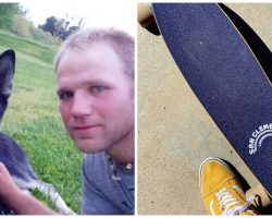 Man Throws Dog In Air, Hits Him With Skateboard, & Slams Him To Ground
