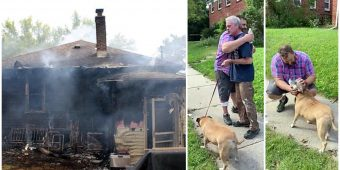 Passerby Breaks Into Stranger's Burning Home To Save His Sleeping Dog