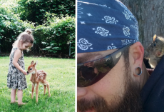 28 Times People Had Magical, Spontaneous Moments With Animals