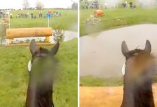 Exciting Helmet Cam Footage Captures The Thrill And Challenges Of A Horse Race
