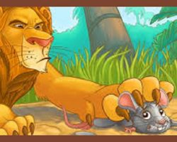 The Mouse & The Lion – Aesop