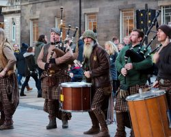 Tribal Scottish Band Performs Breathtaking Battle Song